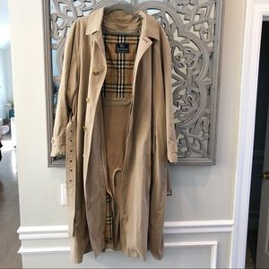 Vintage Burberry Prorsum Collection Trench Jacket
